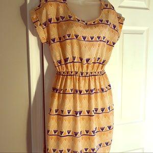 Soprano dress - open back